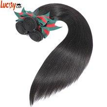 Chegada nova peruano feixes de cabelo reto cor natural 100% extensões de cabelo humano 8-30