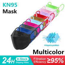 Adult fish mask kn95 mascarillas pescado Beauty Fashion Comfortable ffp2mask Efficient protect fpp2 fish mascarillas de colores