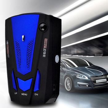 V7 Laser & Radar Detector with Voice Alert Warning