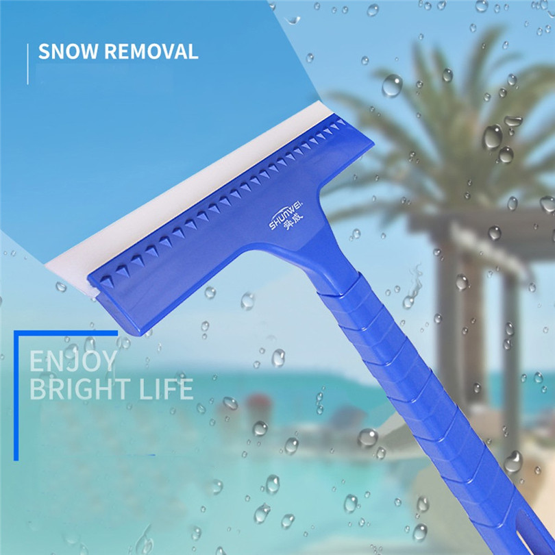 SUNWEI  Multifunctional Car Home Snow Shovel Stains Water Stains Clean Water Scraper Garden Shovel Tools Snow Removal #3D16