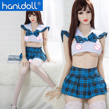 Hanidoll Silicone Sex Dolls 158cm Love Doll Realistic Ass Vagina Anal Real Japanese TPE Toy for Men
