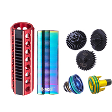 SHS 18/1 Straight Tooth Steel Gear Air Cylinder Nozzle 14 TeethMushroom Piston Head Set  for gearbox V.2/3 for AEG for airsoft цена 2017