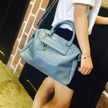 цена на 2020 New Style Europe And America WOMEN'S Fashion Handbag Simple Casual Boston Bag Pillow Bag Shoulder Bag Shoulder Bag