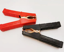 Red Black Alligator Clips Battery Clamps Crocodile Clip 100A Lenght 10.5cm Height 7cm стоимость