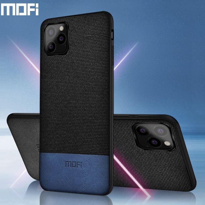 MOFi caso original para iPhone11 11 pro max tecido à prova de choque da tampa do caso para o iphone de silicone coque capas apple 11 pro volta caso