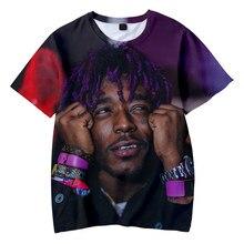 Rapper LIL UZI VERT Printed 3D T-shirt Men/Women 2021 Funny T Shirts Hit Hop Summer Fashion Harajuku Short Sleeve Top Tees