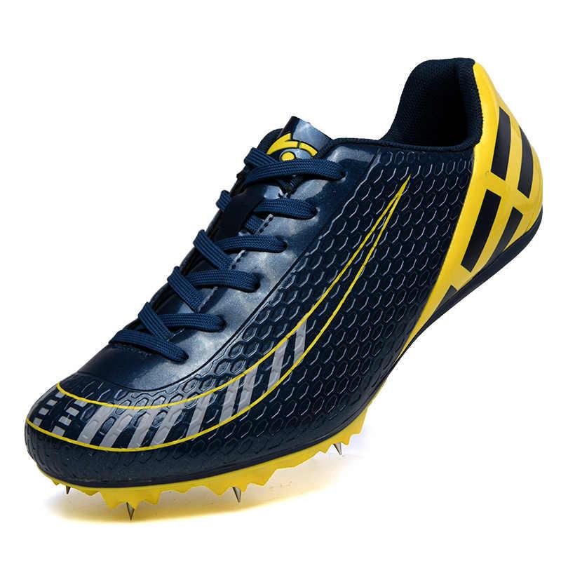 Outdoor Paku Sepatu Pria Wanita Trek dan Lapangan Sepatu Atletik Musim Semi Ringan Pria Berjalan Kuku Sneakers Sepatu Balap 36- 45