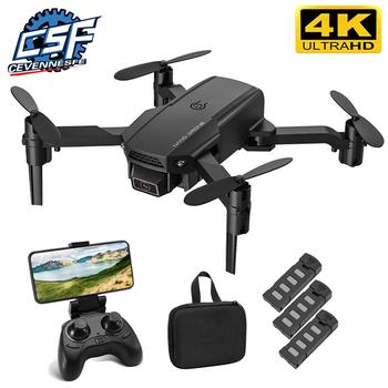 2021 nowy KF611 Drone 4k HD szerokokątny aparat 1080P WiFi fpv drony kamera Quadcopter wysokość utrzymać Dron z kamerą Dron zabawka tanie i dobre opinie CEVENNESFE CN (pochodzenie) Z tworzywa sztucznego 100m 9*5*4 5 CM Mode2 30day Silnik szczotki 3 7V 4 kanały Oryginalne pudełko