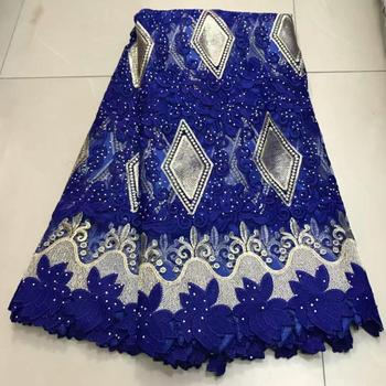 New Design African Lace Fabric 2019 High Quality Lace French Cotton Lace Fabric For Nigerian Wedding Party Dress