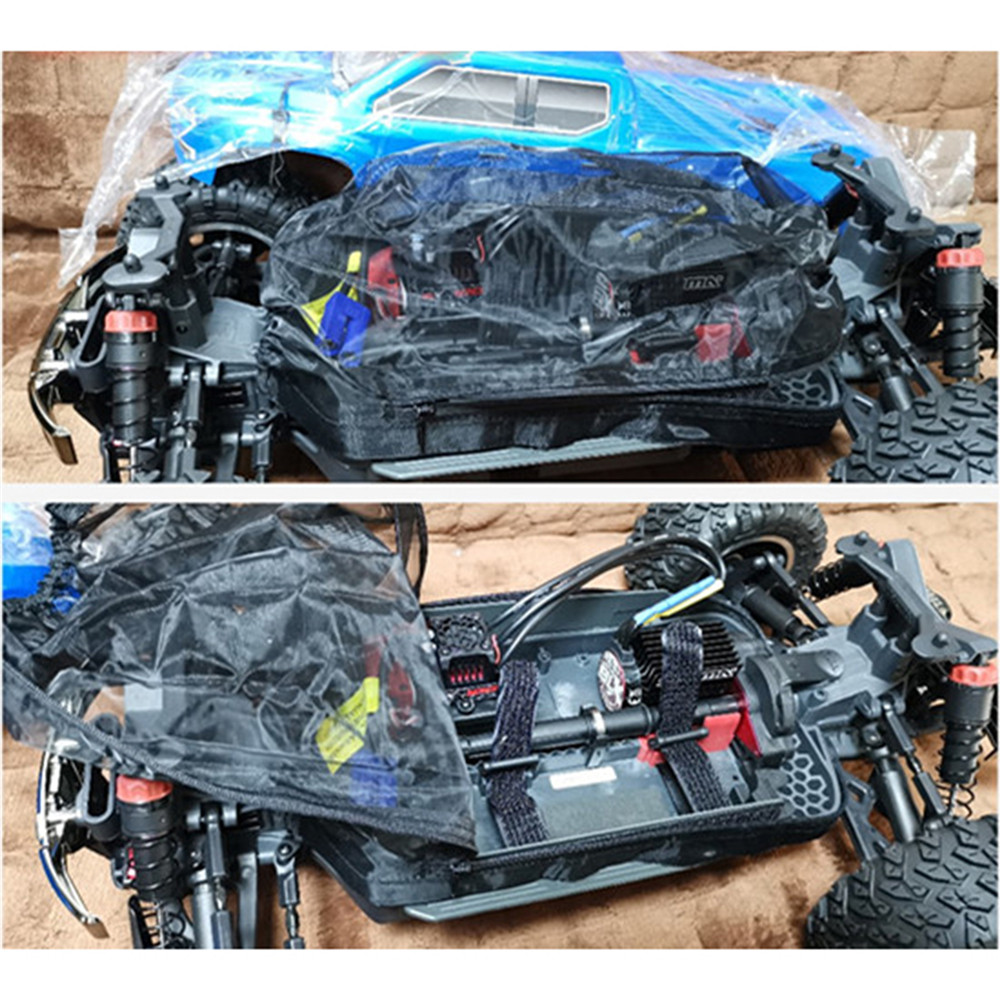 Car Body Dust-proof Cover Dust Prevention Mesh Cover For 1/10 ARRMA Big Rock Crew Cab Upgrade Parts Accessories