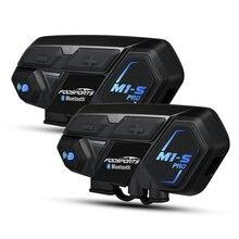 Bluetooth Интерком fodsports m1s pro для мотоциклетного шлема