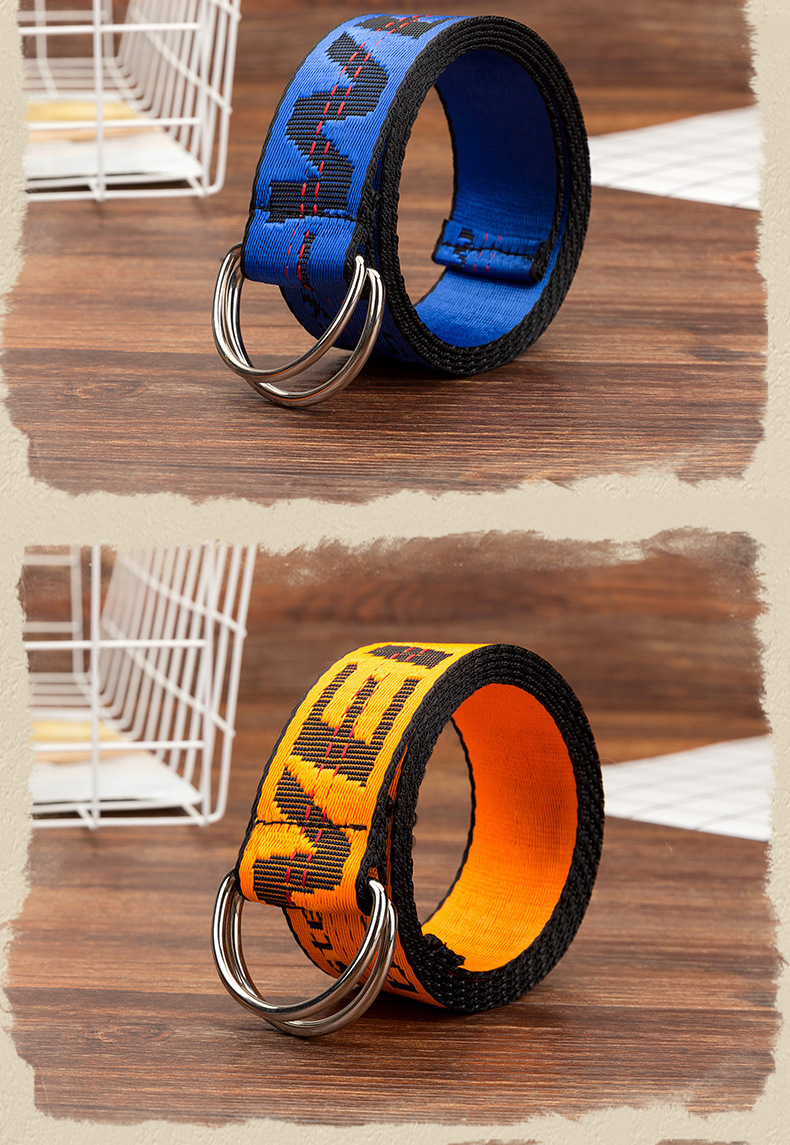 H644759a90e8748729a31587841429ef1H - Belts Women Fashion Personality Letter KINGSIZE Belts European and American Style High Quality Canvas Belt Big Size Belts