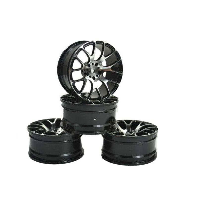 Jantes de roue pour 1:10 RC dérive accessoires de pneu de voiture de tourisme pour HSP Redcat et HPI Himoto Kyosho Sakura 4 pièces pneu résistant à l'usure
