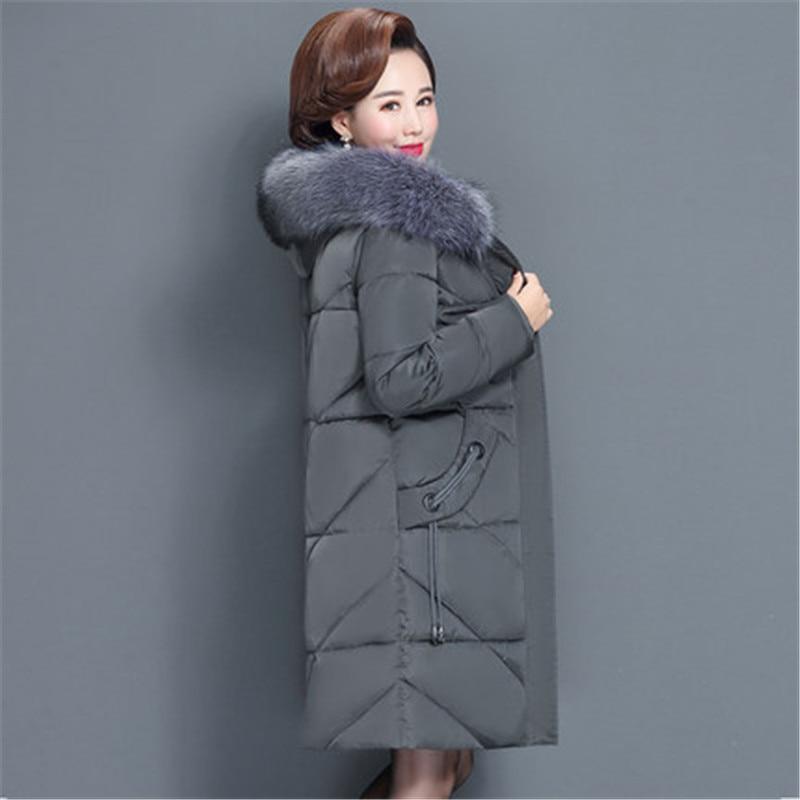 2020 nuovo Più Il Formato 6XL Giacca Invernale Femminile Imbottiture Cotone Imbottito Vestiti Delle Donne casual Sottile Parka Medio-di età compresa tra Cappotto cappotti V1011