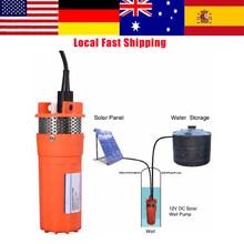 Bomba sumergible de 12V CC de 6,5 l/min, bomba sumergible de agua para pozo profundo de 1/2 pulgadas, bomba sumergible de energía Solar alternativa, hasta 30m