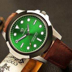 Новинка 2020, мужские Брендовые Часы YAZOLE, роскошные мужские наручные часы, кожаные повседневные мужские часы, Relogio Masculino Reloj Hombre, часы