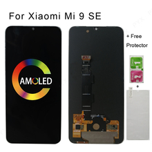 "5.97 ""per Xiaomi MI 9 SE Mi9 SE AMOLED Display LCD Touch Screen Digitizer per MI 9SE Display spedizione gratuita"