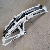 20 zoll Legierung Aluminium Klapp Fahrrad Rahmen Disc Bremse Berg Faltbare Fahrrad Rahmen-in Fahrradrahmen aus Sport und Unterhaltung bei