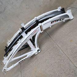Marco de bicicleta plegable de aleación de aluminio de 20 pulgadas