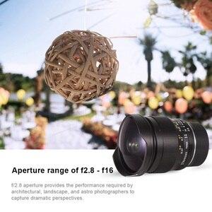 Image 4 - TTArtisan מלא התהילה 11mm F2.8 במיוחד רחב Fisheye עדשה ידנית E הר עבור Sony A7II A7RII A6600 עבור לייקה L הר ניקון Z הר