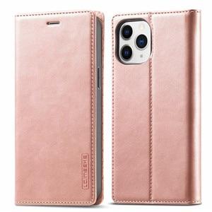 Image 1 - Per Iphone 12 Mini custodia su Iphone 11 Pro Max custodia custodia a portafoglio Super magnetica per Iphone X XR Xs 6 6s 7 8 Plus SE 2020 custodie