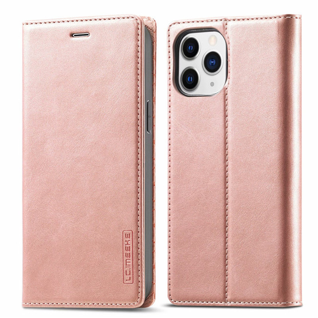 Per Iphone 12 Mini custodia su Iphone 11 Pro Max custodia custodia a portafoglio Super magnetica per Iphone X XR Xs 6 6s 7 8 Plus SE 2020 custodie