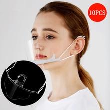 Transparent-Masks Chef Anti-Fog Food-Hygiene Plastic Restaurant Catering Kitchen Special