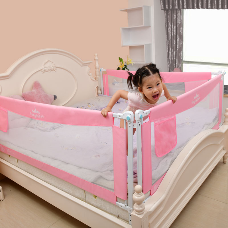 Baby Bed Fence Home Safety Gate Product children Barrier for bed Crib Rails Security Fencing for Children Guardrail Kids playpen
