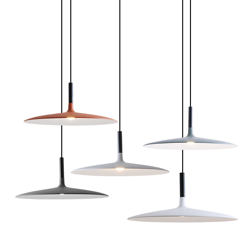 Modern Led Aplomb Pendant Lights Designer Minimalist Dining Room Simple Creative Loft Industrial Style Coffee Bar Table Lamp