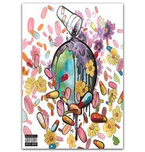 GX199 Future & Juice WRLD On Drugs New 2018 Rap Music Album Cover Painting Poster Prints Canvas Wall Picture For Home Room Decor(China)
