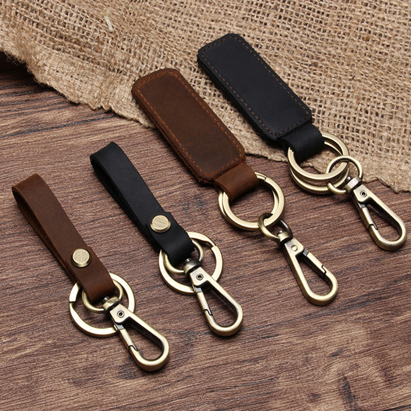 Creative Keyfob Holder Strap Key Chain Gifts For Car Styling Keychain Ring