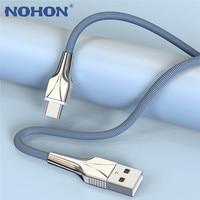Cable USB tipo C de carga rápida para móvil, Cable de datos para Samsung S20, S10, Huawei P40, Mate 30, Xiaomi Mi 10, 1, 2 y 3 M