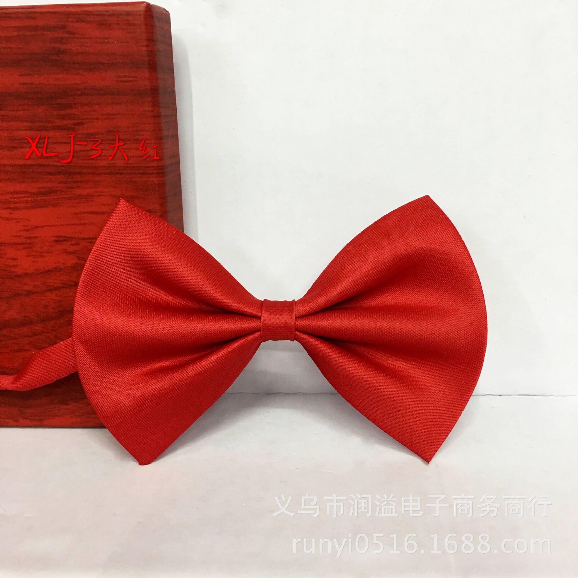 Bow Tie Bowtie Multi-color Children Bowtie Satin Korean-style Bow Gentleman Set Accessories