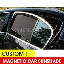 4PCS Magnetic Car Side Window SunShades Cover Mesh Blind For Suzuki SX4 Swift Alivio ERTIGA Grand Vitara Hustler Jimny S-CROSS