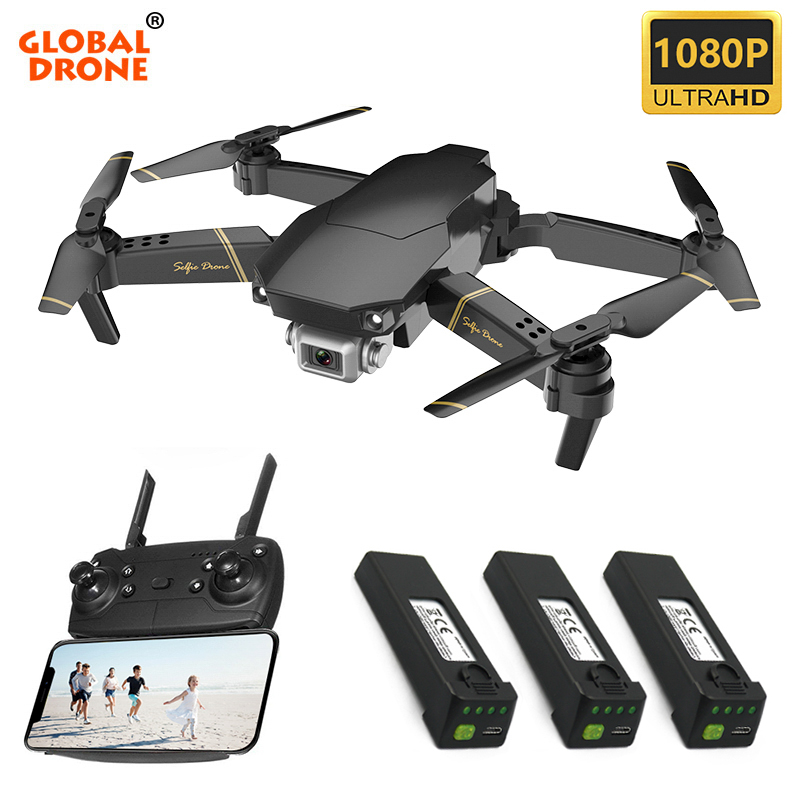 Global Drone EXA Drones With Camera HD RC Helicopter Toys Machine On The Control Panel Foldable Camera Dron Drone X Pro