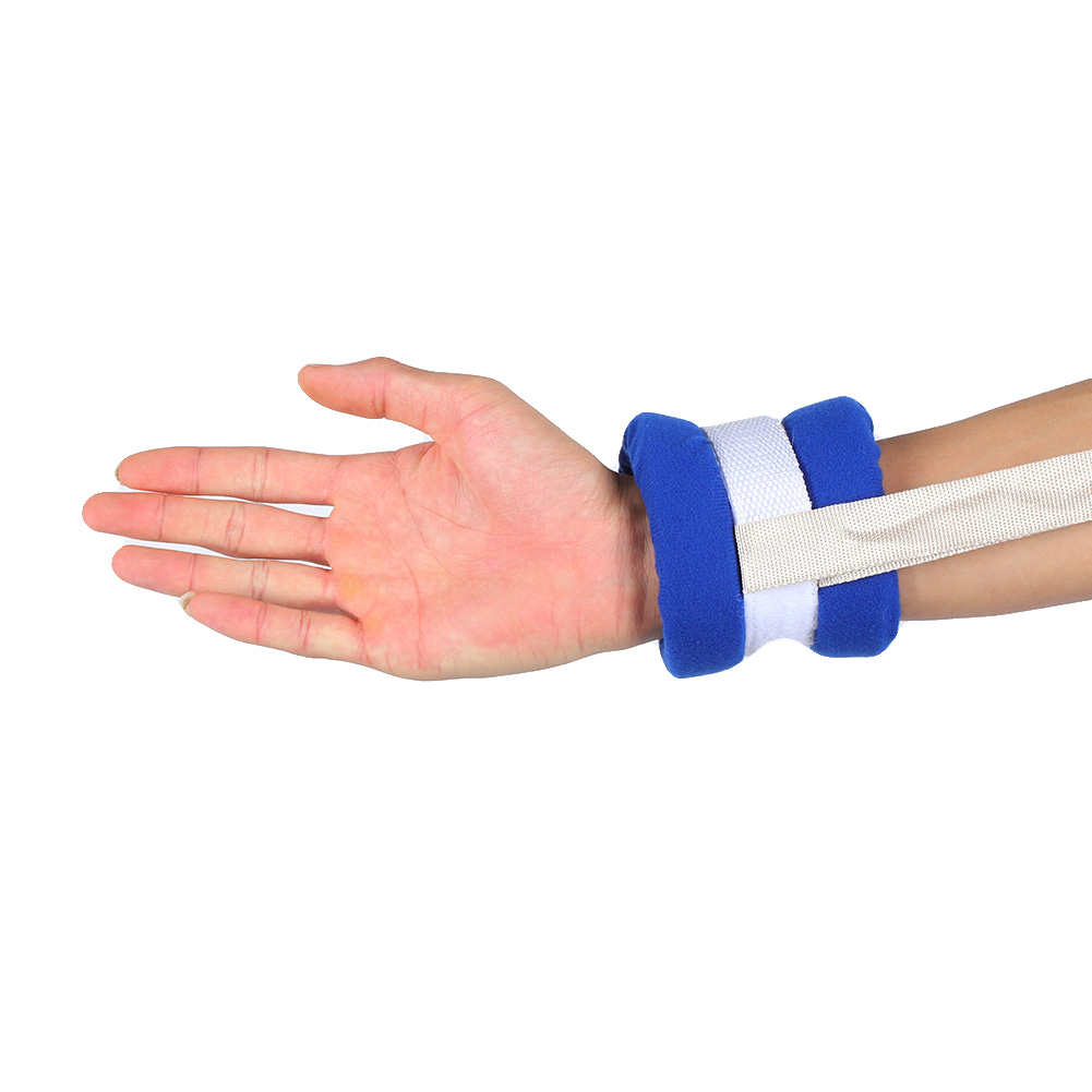 2 Pcs Medical Limbs Restraint Strap Patients Hands Feet Limb Fixed Strap Belt For Bedridden Patient Elderly Mental Patient Use