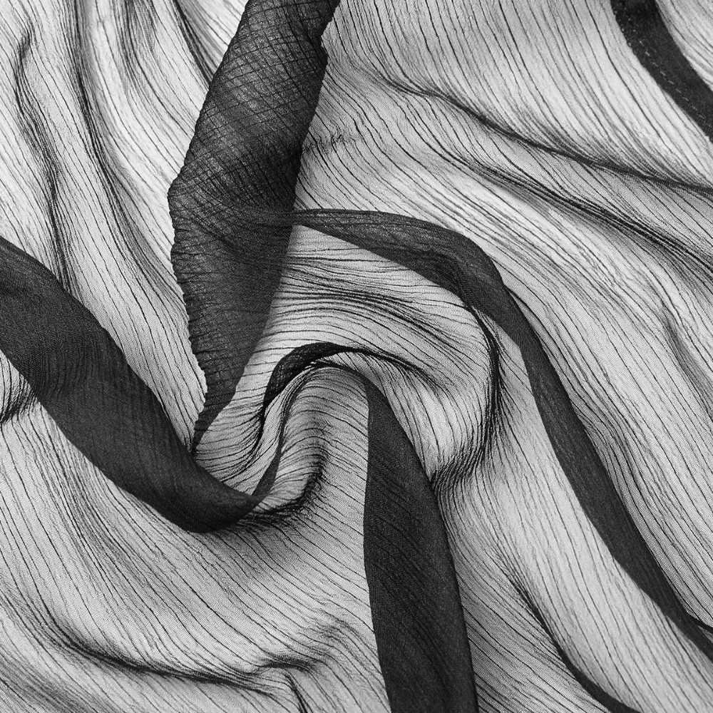 Новинка, женский черный прозрачный топ с капюшоном и длинными рукавами в стиле панк, готическое асимметричное шифоновое пальто с большой шляпой волшебника