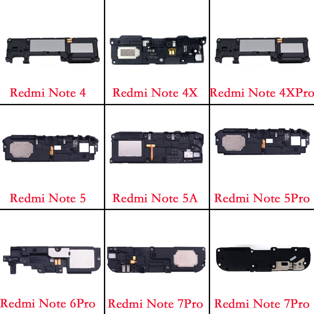 Replacement Parts Buzzer Ringer Module For Xiaomi Redmi Note 4 4x Pro 4X 5 5A P60 6 7 Pro Loud Speaker