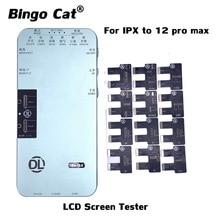 LCD Screen Tester Für iPhone 12 11Pro MAX XS XR 8 7 6S DL S200 Programmierer Umgebungs Licht Sensor original Farbe Wahre Ton 3D Touch