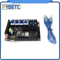 S6 v1.2 보드 스테퍼 모터 드라이버가있는 32 비트 제어 보드 4pcs tmc2209 v3.0 uart 플라잉 와이어 mx 커넥터 vs f6 v1.3 skr v1.3