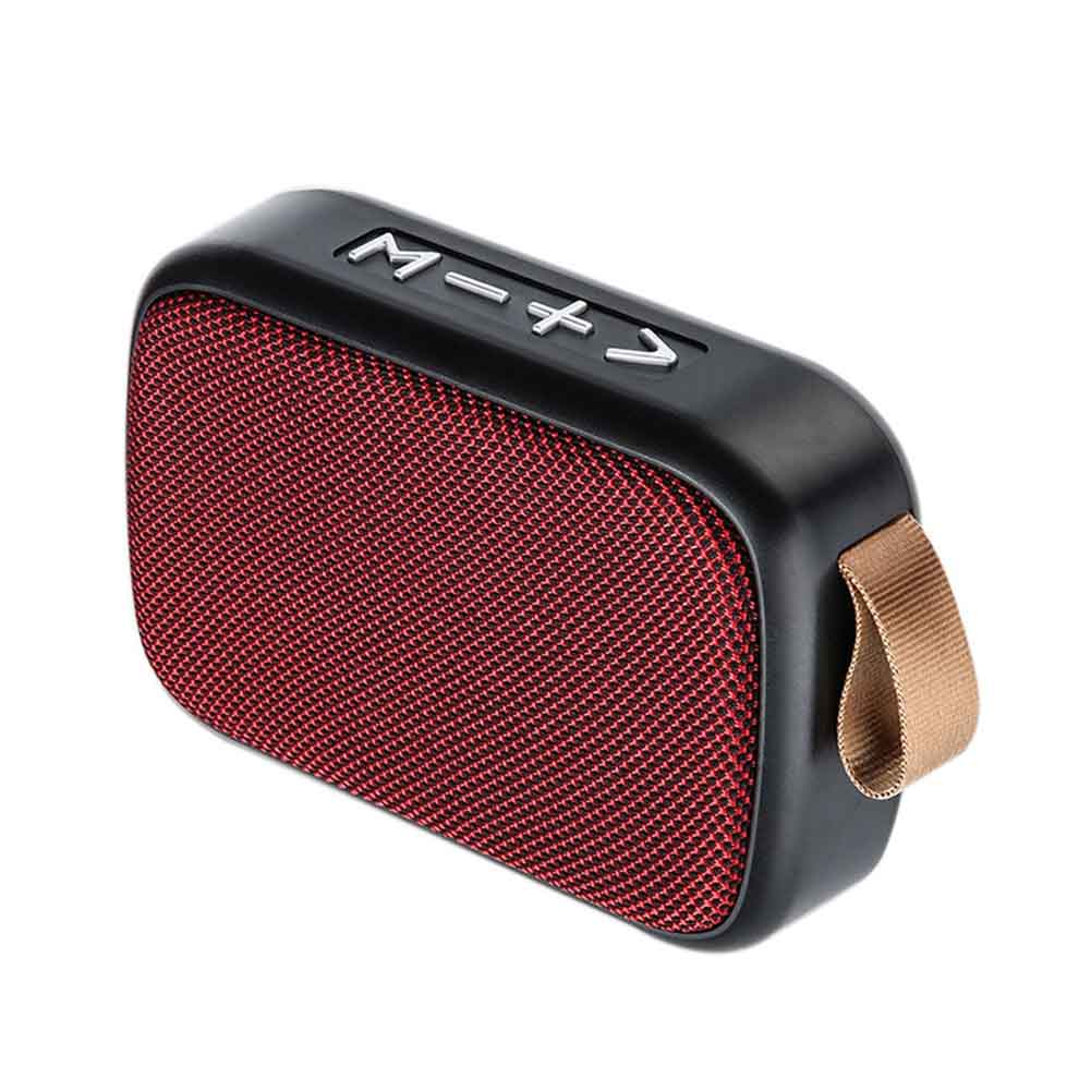 Mini Portable Smartphone Rechargeable Stereo Sound Outdoor Home Loudspeaker TF Card Bluetooth Speaker Laptop Tablet FM Wireless