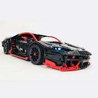 RC coche los Lamborghinis Roadster función de alimentación de bloques de construcción de automóviles ladrillos niños técnica jug