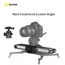Zeapon Micro 2 Rail Slider Aluminum Alloy Lightweight Portable with Easylock 2 Low Profile Mount for DSLR and Mirrorless Camera