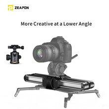Zeapon Micro 2 Rail Slider อลูมิเนียมอัลลอยน้ำหนักเบาแบบพกพา Easylock 2 LOW PROFILE Mount สำหรับกล้อง DSLR และ Mirrorless