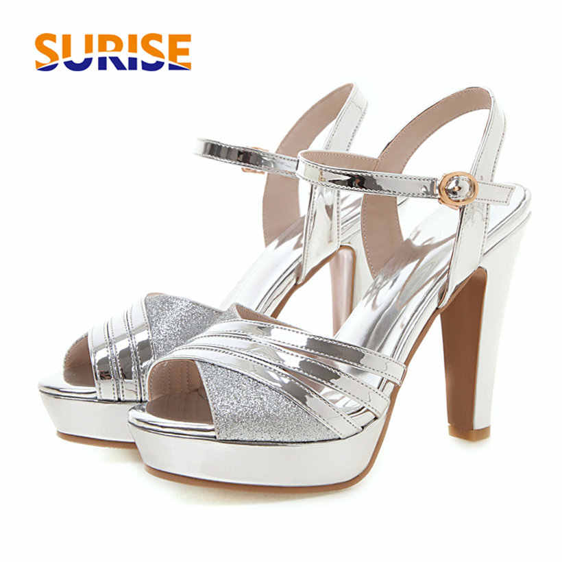 Platform Sandals High Chunky Heels