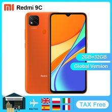 Xiaomi Redmi 9C wersja globalna 32GB 64GB telefon komórkowy Helio G25 Octa Core 6.53