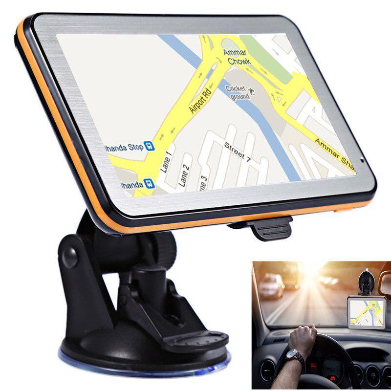 Автомобильный навигатор DDR с GPS-навигацией, 5 дюймов, 256 м + 8 Гб, TFT, ЖК-дисплей, сенсорный экран, Wince, Голосовое управление, автомобильный навига...