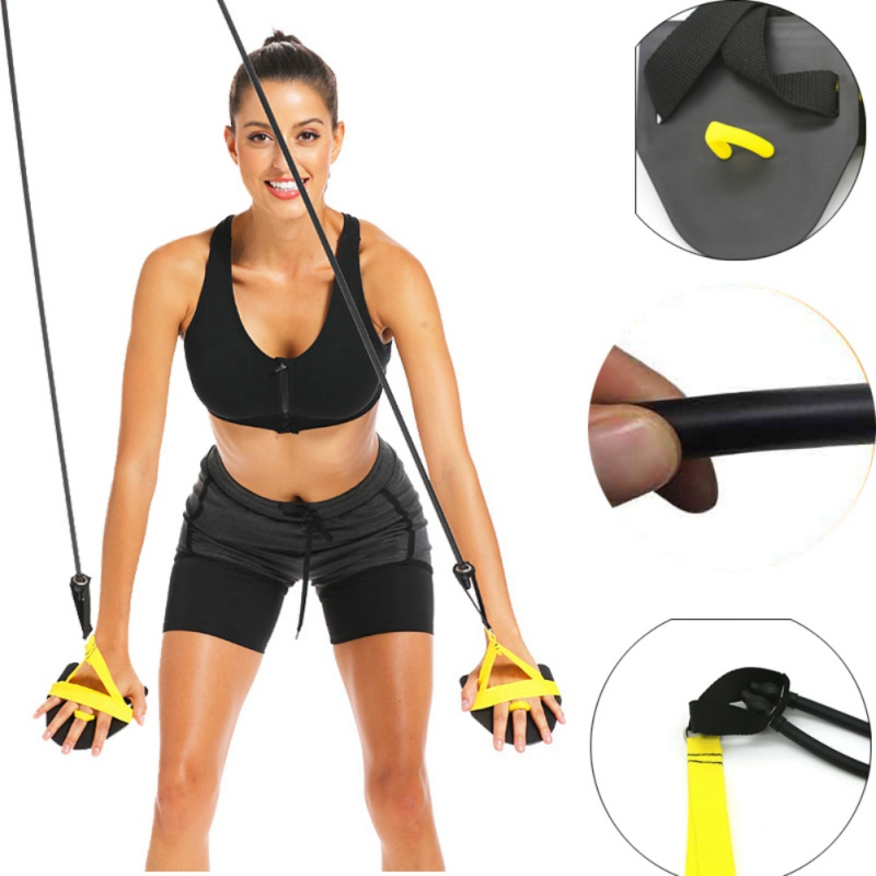 Swimming Arm Strength Trainer Swim Paddle Fins Professional Freestyle Swimming Arm Trainer Elastic Band Swimming Training Tool