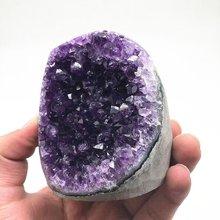 En İyi kalite doğal kristal kuvars Uruguay ametist kristal geode