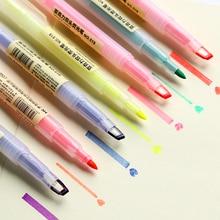 Stationery Office-Accessories Marker-Pen Highlighter-Pens School-Supplies Fluorescent